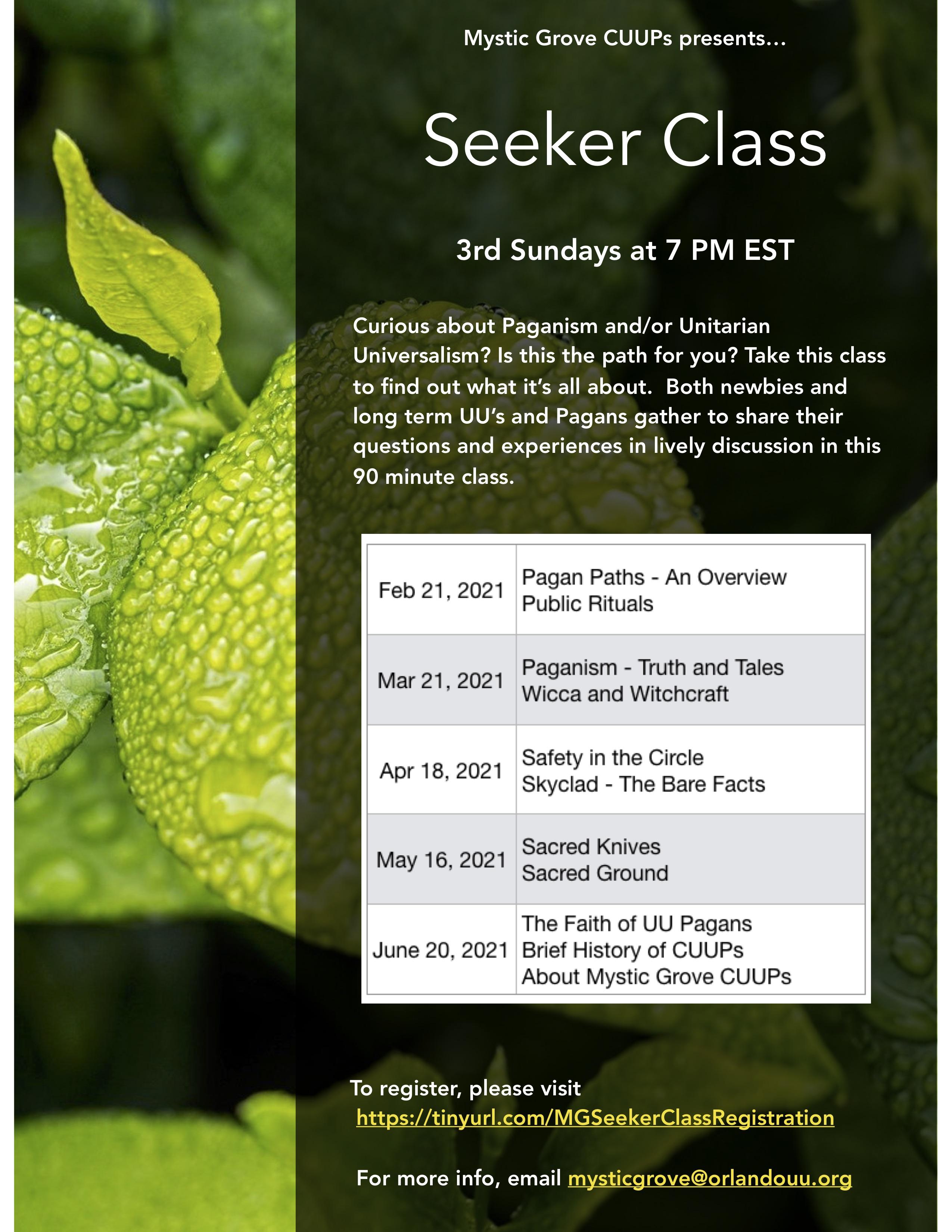 Seeker Class PR Flier copy